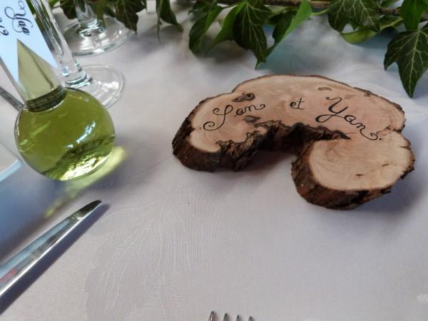 Décoration de table de mariage médiéval